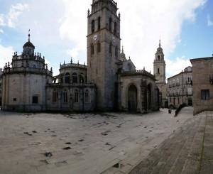 Plaza de Santa Maria Lugo