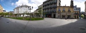 Plaza de Campo Castillo Lugo